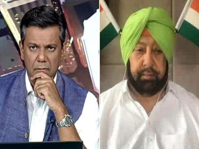 Video : Got A Very Serious Covid Situation: Amarinder Singh On NEET, JEE