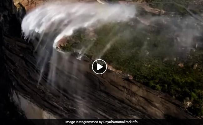 Caught On Camera: The Strange And Spectacular Phenomenon Of Reverse Waterfalls