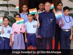 """Sharing Memories"": Pranab Mukherjee's Daughter Tweets His Old Independence Day Pics"