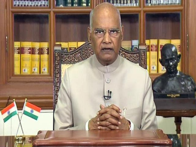 Video : Watch Full Speech Of President Kovind On Eve Of 74th Independence Day