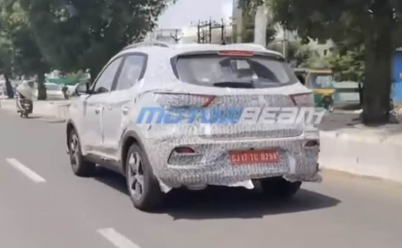 The MG ZS petrol SUV was showcased earlier this year at the 2020 Auto Expo as well