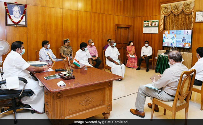 Tamil Nadu Chief Minister Asks Centre To Increase Relief Package Funds