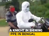 Video : Wearing PPE, Trinamool Leader Takes Man With Covid Symptoms To Hospital