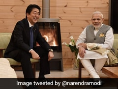 """""""Touched By Your Words"""": Japan's Shinzo Abe On PM Modi's Get Well Tweet"""