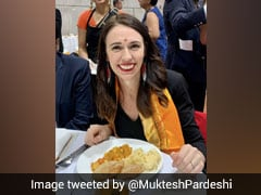 New Zealand PM Jacinda Ardern Tries Simple Indian Meal At Temple Visit