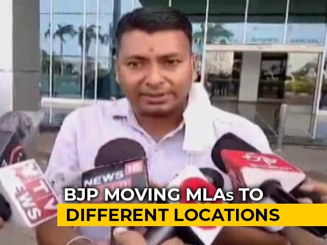 Video : BJP Shifts 6 Rajasthan MLAs To Gujarat's Porbandar Ahead Of Assembly Session