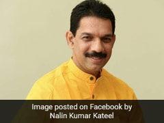 Karnataka BJP Chief Nalin Kumar Kateel Says He Has Tested Positive For Coronavirus