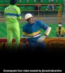 Watch: When Akram Hit Sri Lanka Batsman In The Box, Twice In Two Balls