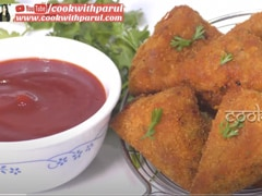 Watch: Chatpate Aloo Pav Bhaji Bites Recipe - This Snack Is Crispy, Spicy And Perfect For Monsoons