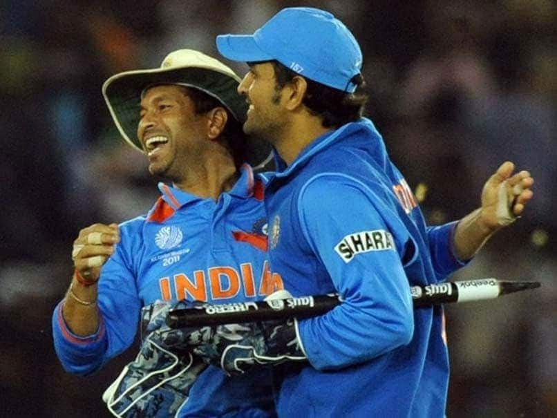 Suggested To BCCI That MS Dhoni Should Be Made Captain: Sachin Tendulkar - NDTVSports.com