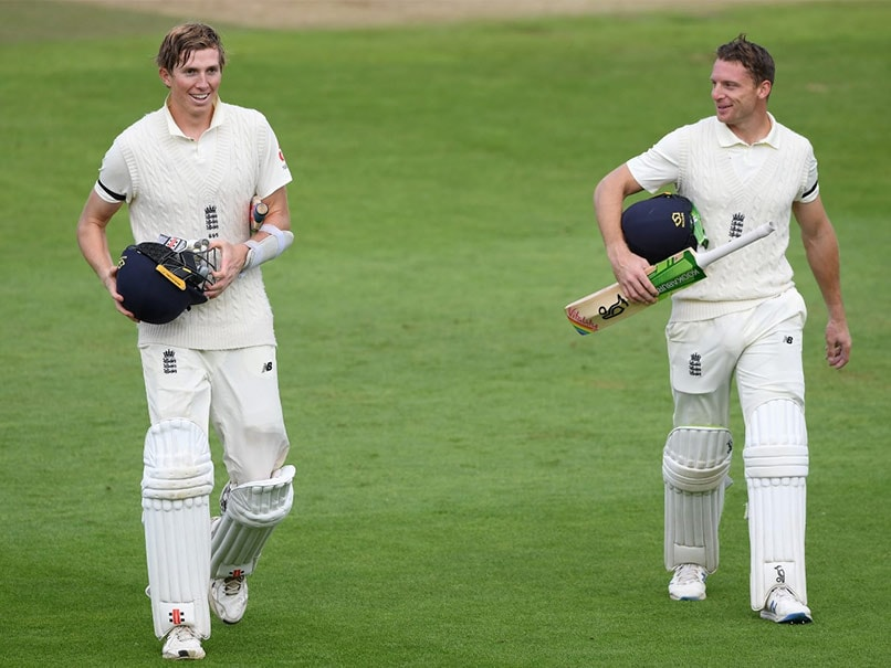 England vs Pakistan 3rd Test: Zak Crawley's Maiden Century Helps England End Day 1 On Top