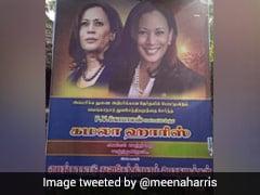 """""""Victorious'' Kamala Harris Poster In Tamil Nadu, Her Niece Tweets Photo"""