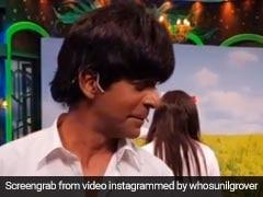 शाहरुख खान के अंदाज में एक्ट कर रहे थे सुनील ग्रोवर, तभी पलटी 'सिमरन' और किया ऐसा...देखें मजेदार Video