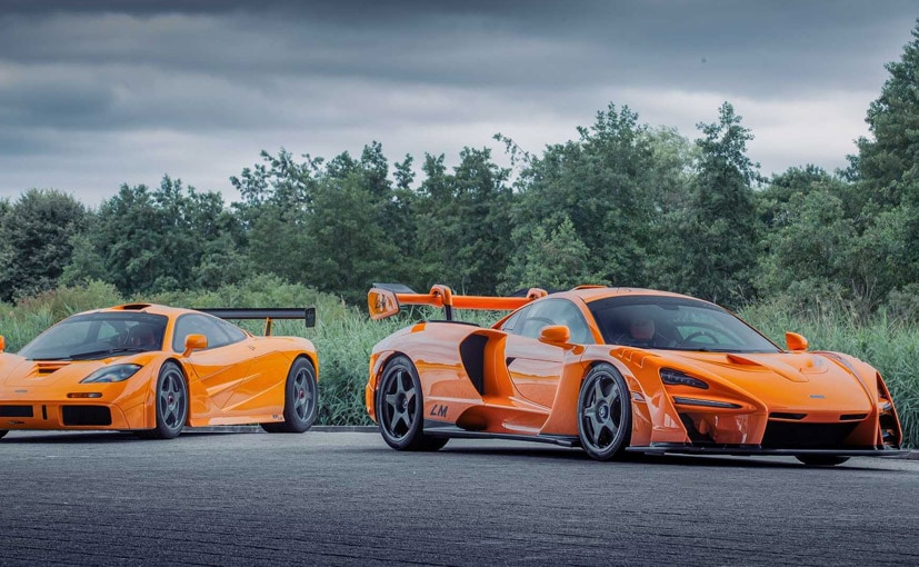 The McLaren Senna LM celebrates 25 years of the company's victory at Le Mans.
