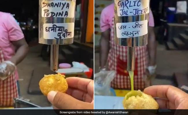 Automatic Pani Puri Machine? Twitter Loves This 'Jugaad'