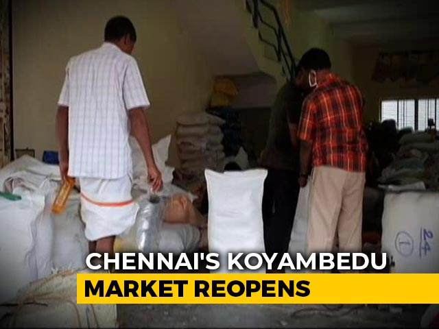 Video : Chennai Market, Once a COVID-19 Hotspot, Reopens