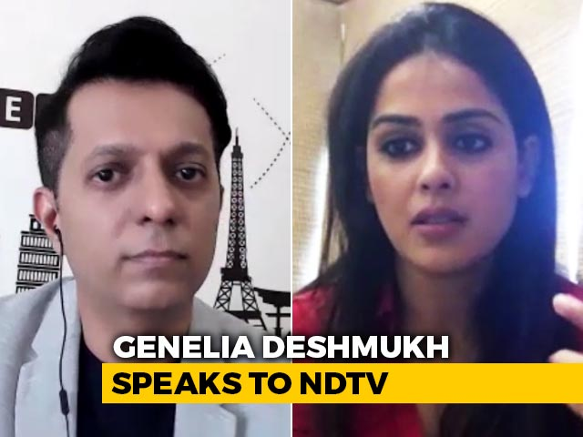 Never Thought I Would Test Positive For Covid-19: Genelia Deshmukh