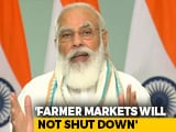 "Video : ""Some Fear Control Slipping Away"": PM's Dig At Opposition On Farm Bills"