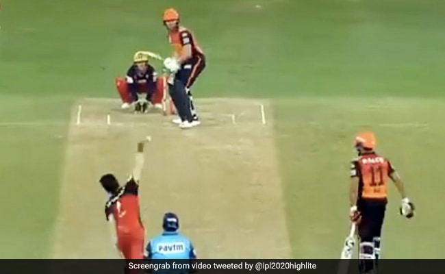 IPL 2020: युजवेंद्र चहल ने पिच पर नचाई ऐसी गेंद, बोल्ड हुए बेयरस्टो, कोहली ने मनाया ऐसा जश्न - देखें Video