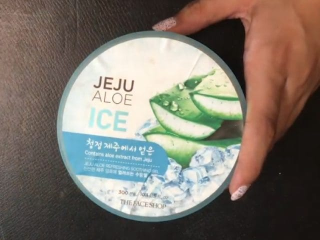 Video : Beauty Review - The Face Shop Jeju Aloe Ice Aloe Gel