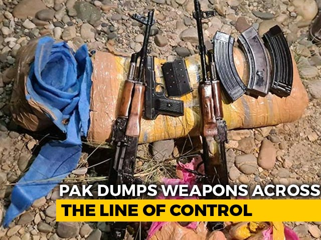 Video : Pak Flies Drones Across LoC At Night, Drops AK-47s For Terrorists: J&K Police