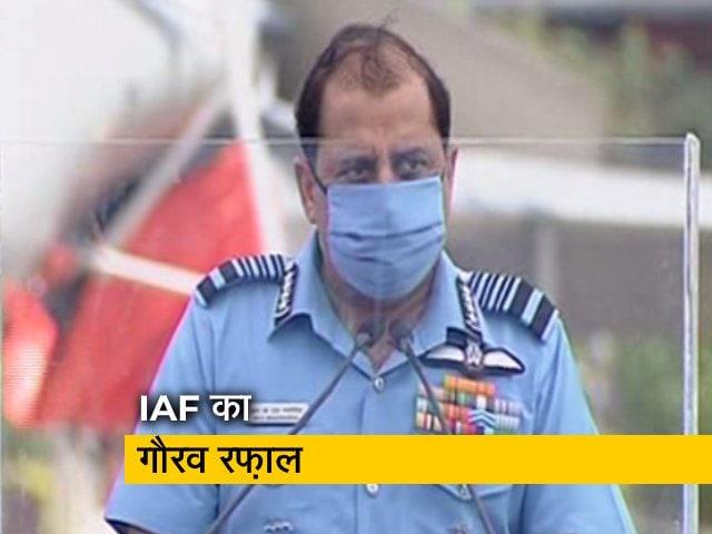 Videos : IAF चीफ ने बताया कि रफ़ाल के शामिल होने का ये समय क्यों बेहतर