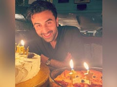 Ranbir Kapoor Cuts Two Dreamy Cakes For Birthday, Alia Bhatt Shares Pic