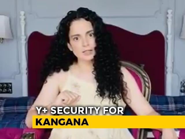 Kangana Ranaut To Be Provided Y+ Category Security: Government Sources
