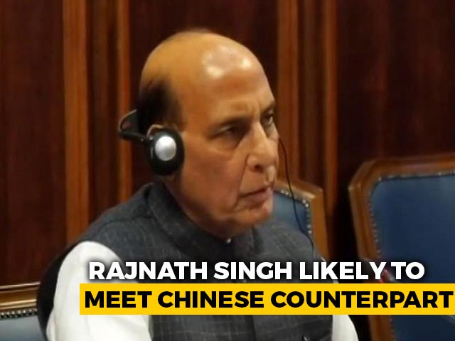 Video : Rajnath Singh Likely To Meet Chinese Defence Minister In Moscow: Sources