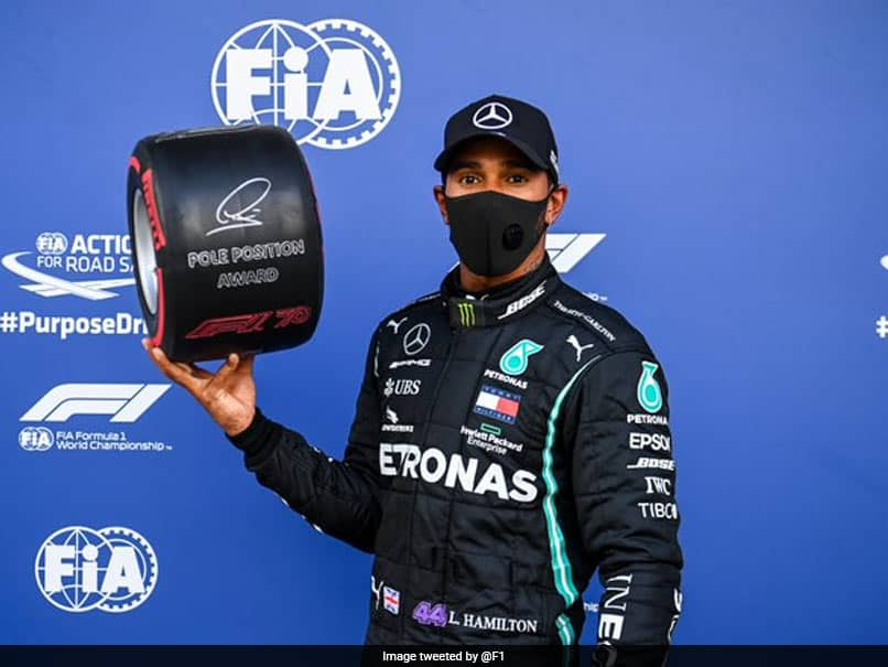 """Russian Grand Prix: Lewis Hamilton Takes Pole Position After """"Horrible"""" Qualifying"""