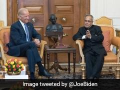 Pranab Mukherjee Believed In Tackling Global Challenges Together: Joe Biden
