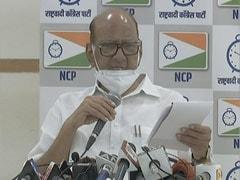 राज्यसभा से निलंबित हुए 8 सांसदों के समर्थन में उपवास पर गए NCP प्रमुख शरद पवार