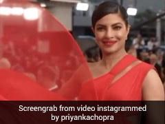 प्रियंका चोपड़ा ने रेड ड्रेस में दिखाया जबरदस्त स्वैग, एक्ट्रेस के Video ने मचाया धमाल