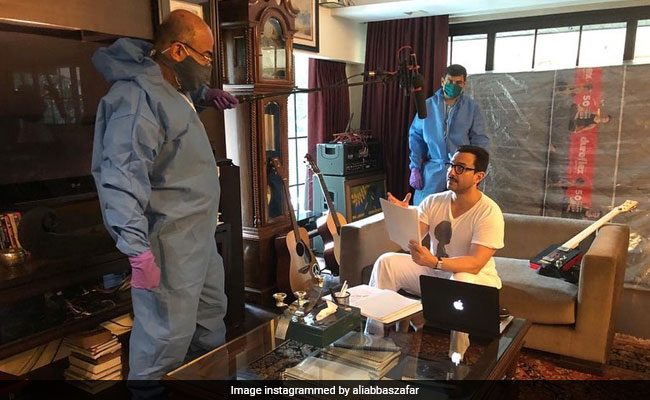 Here's How Saif Ali Khan's Work-From-Home Scene Looks Like