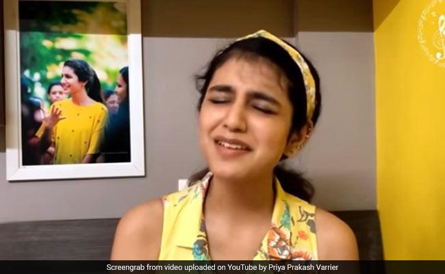 प्रिया प्रकाश वारियर ने अब सिंगिंग में चलाया जादू, 'चन्ना मेरेया' सॉन्ग गाकर जीता फैन्स का दिल- देखें Video