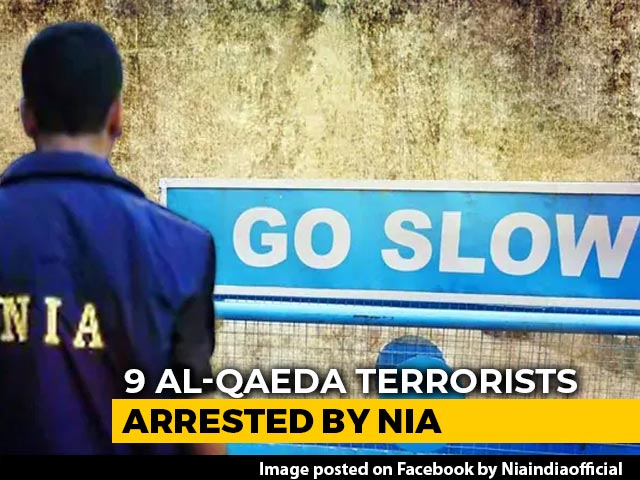 Video : 9 Al-Qaeda Terrorists Arrested In Multiple Raids In Kerala, Bengal: NIA