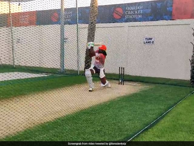 """Beast Mode Activated"": Kings XI Punjab React As Chris Gayle Hits The Nets. Watch"