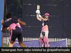 IPL 2020: Rajasthan Royals Share Video Of Steve Smith Playing The Helicopter Shot. Watch