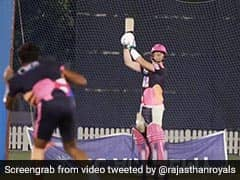Watch: RR Share Video Of Steve Smith Playing The Helicopter Shot