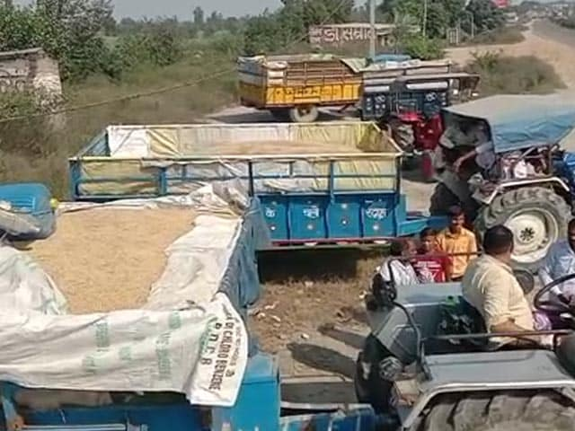 Video : Day After Farm Bills Become Law, 50 UP Farmers Stopped At Haryana Border
