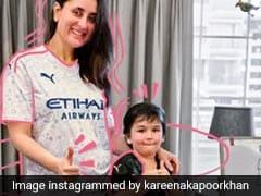 ग्लैमरस Mom करीना कपूर ने बेटे तैमूर के साथ शेयर किया फोटो, कहा- Excuse us