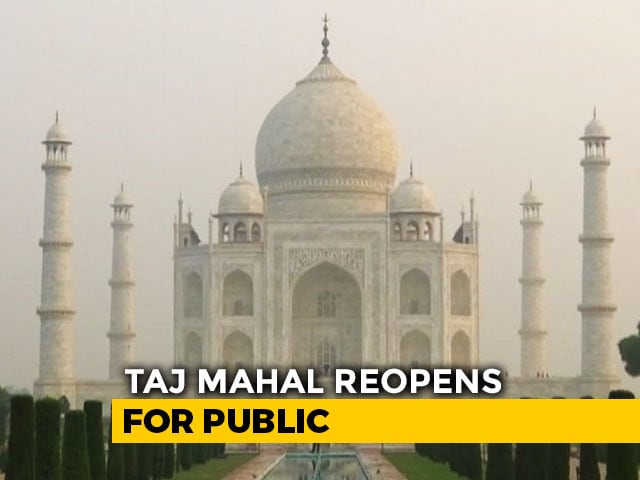 Video : Taj Mahal Reopens: 5,000 Visitors A Day, Online Tickets Only, Masks Must