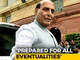 "Video : ""India Foiled China's Move"": Rajnath Singh In Parliament"