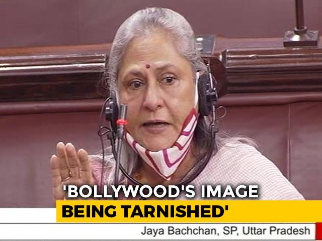 "Video : Jaya Bachchan Slams ""Drugs In Bollywood"" Claim, Kangana Ranaut Jumps In"