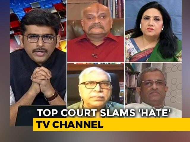 "Video : Supreme Court Stays Telecast of TV Show That ""Vilifies Muslims"""