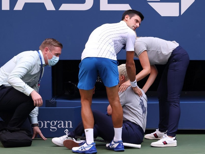 US Open 2020: World No. 1 Novak Djokovic Disqualified From The Tournament After Hitting Official With The Ball In Round Of 16