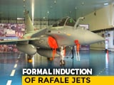 """Video : """"New Bird In Arsenal"""": 5 Rafales To Join Air Force Today"""