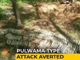 Video : Pulwama-Type Attack Averted, 52 kg Explosives Found Near J&K Highway: Army