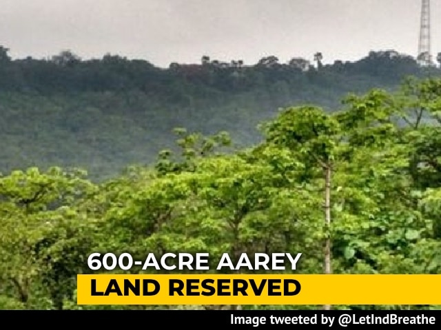 Video : Maharashtra To Reserve 600-Acre Aarey Land Near National Park As Forest
