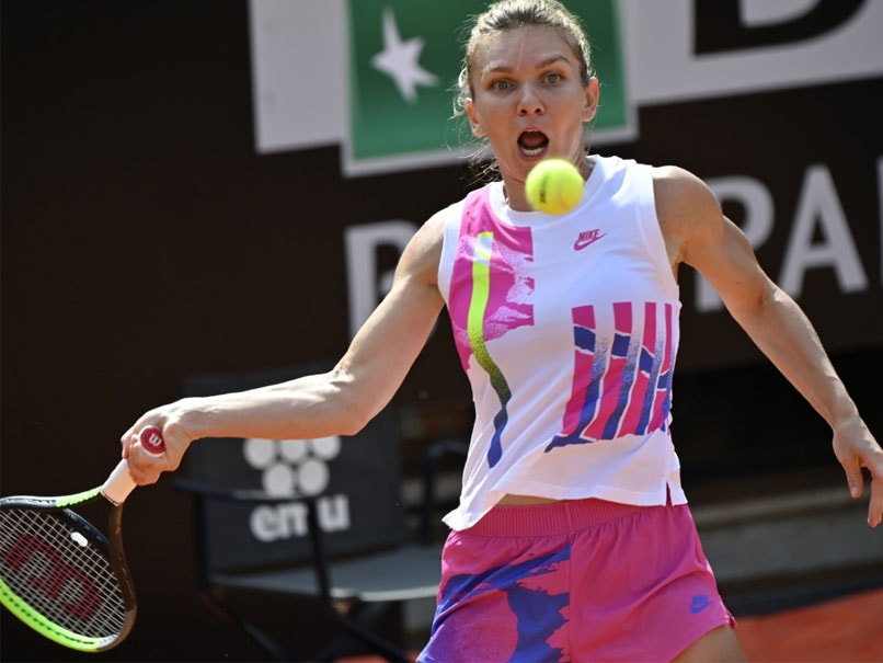"""""""Finally Its Mine"""": Simona Halep Warms Up For Roland Garros With First Italian Open Trophy"""